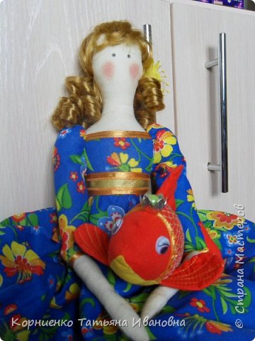"""Как в песне Пугачёвой: """"У меня есть три желанья нету рыбки золотой"""".....Долго она фантазировалась и вот наконец-то появилась  на свет. фото 8"""