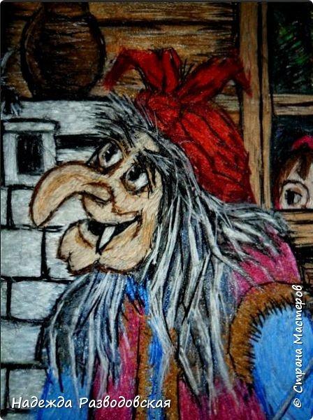 Моя работа связана с детьми, поэтому неслучайно в моем творчестве много сказочных сюжетов и персонажей... Куклы, гномики из папье-маше... И для моей вышивки гладью таким сказочным персонажам тоже нашлось место.  фото 3