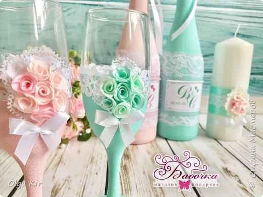 Приветствую вас дорогие мастера и рукодельницы!  Сегодня у меня небольшой  свадебный комплект, и очень захотелось показать саму невесту. Красивая, креативная, я балдею от  Ее образа и энергетики)))   фото 7