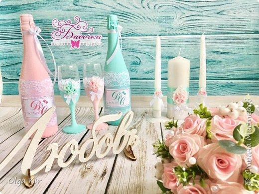 Приветствую вас дорогие мастера и рукодельницы!  Сегодня у меня небольшой  свадебный комплект, и очень захотелось показать саму невесту. Красивая, креативная, я балдею от  Ее образа и энергетики)))   фото 13