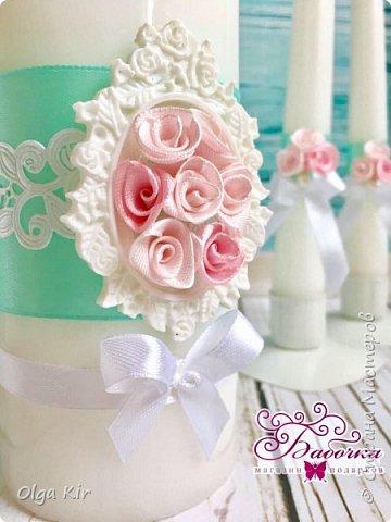 Приветствую вас дорогие мастера и рукодельницы!  Сегодня у меня небольшой  свадебный комплект, и очень захотелось показать саму невесту. Красивая, креативная, я балдею от  Ее образа и энергетики)))   фото 9