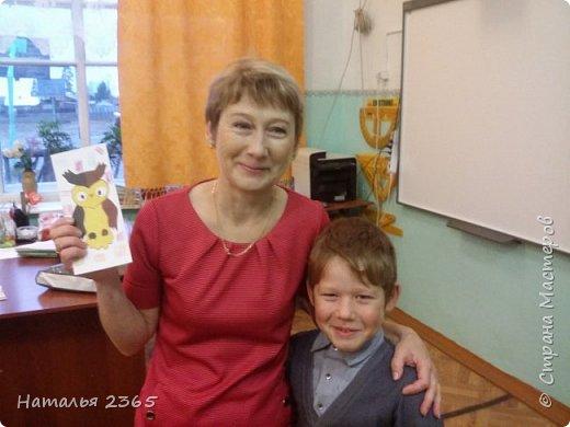 Большое спасибо за идею Галине Викторовне  (ГалинаВик  http://stranamasterov.ru/user/30078) !  Вот таких совушек сделали учащиеся 3- го класса. Это получились у нас такие закладки. фото 4