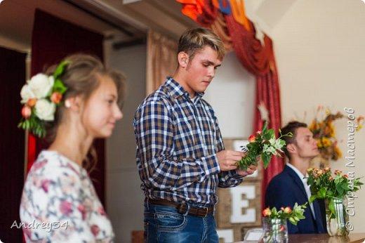 """Был конкурс """"Минута славы"""" в колледже малого бизнеса Я показал свой талант, это свадебная бутонерка фото 10"""