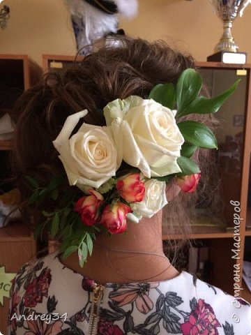 """Был конкурс """"Минута славы"""" в колледже малого бизнеса Я показал свой талант, это свадебная бутонерка фото 2"""