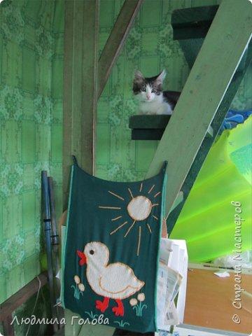 Газетница в дачном доме. фото 2