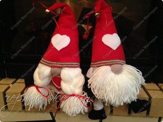 Добрый день жители страны Мастеров. Новый год не за горами.)))  Представляю Вам своих Дед Морозов и Снегурочек.  фото 6