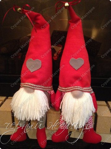 Добрый день жители страны Мастеров. Новый год не за горами.)))  Представляю Вам своих Дед Морозов и Снегурочек.  фото 3