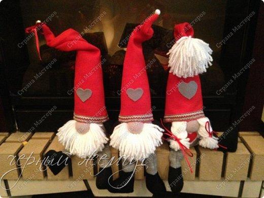 Добрый день жители страны Мастеров. Новый год не за горами.)))  Представляю Вам своих Дед Морозов и Снегурочек.  фото 9