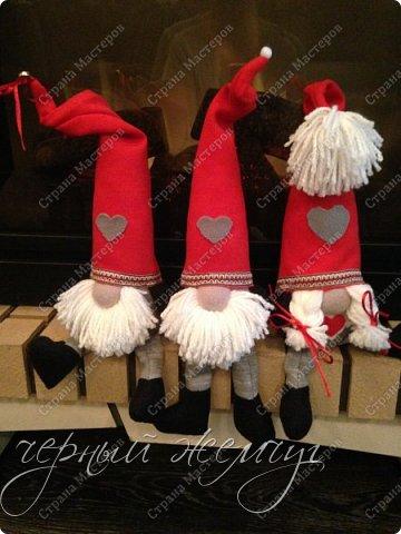 Добрый день жители страны Мастеров. Новый год не за горами.)))  Представляю Вам своих Дед Морозов и Снегурочек.  фото 2