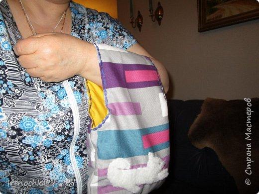 """Рождественская мастерская начала свою работу. Эти сумки (""""авоськи"""") для моих подруг. фото 3"""