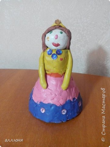 Принцесса из пластелина. фото 1