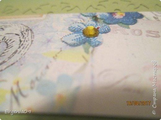 Здравствуйте! У меня сегодня конверт для денежного подарка.  Для основы использована цветная акварельная бумага фото 5