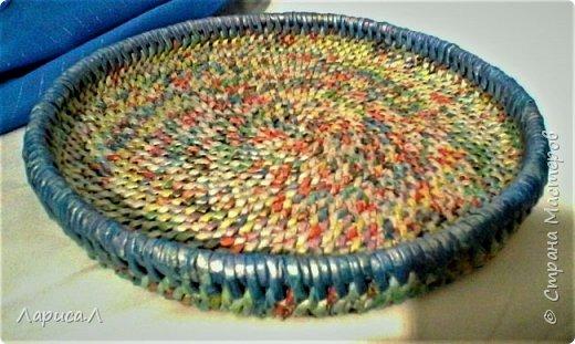 Конфетница из бумажной лозы выполнено в технике плетение из корня, размеры: 8х12х9 см, высота 12 см (без крышки). Цвет белый перламутр. фото 11
