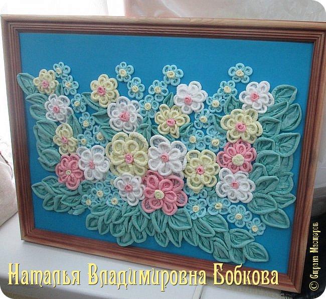 Мастер-класс по изготовлению ажурных цветов из бумажных салфеток.   фото 29