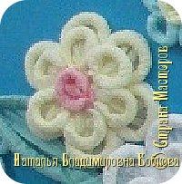 Мастер-класс по изготовлению ажурных цветов из бумажных салфеток.   фото 13