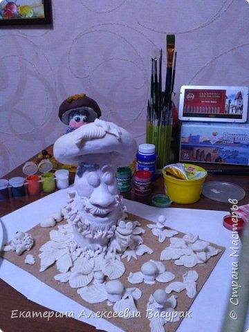 осенняя подделка сыну в детский сад) фото 4
