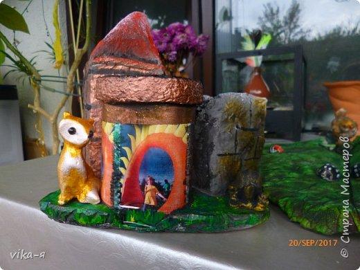 декоративная подставка для карандашей и прочей мелочи.с гнездом фото 26