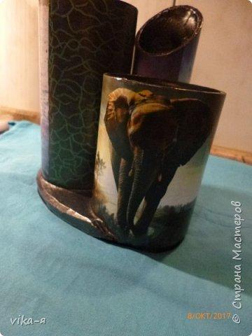 декоративная подставка для карандашей и прочей мелочи.с гнездом фото 38
