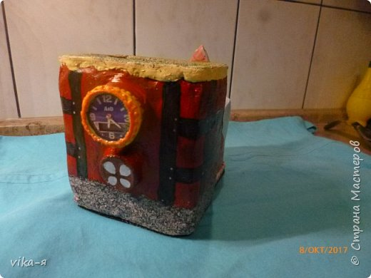 декоративная подставка для карандашей и прочей мелочи.с гнездом фото 35