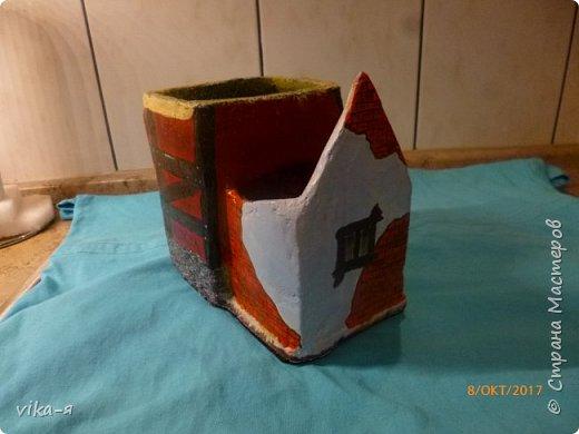 декоративная подставка для карандашей и прочей мелочи.с гнездом фото 36
