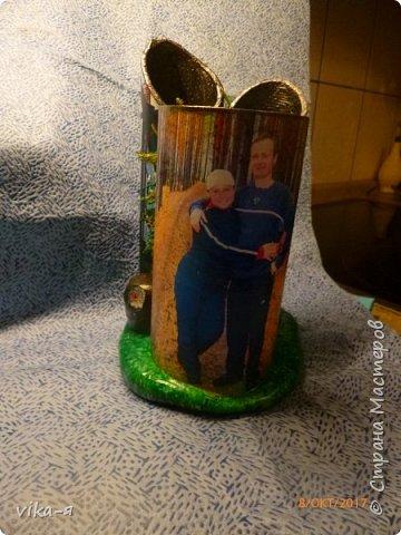 декоративная подставка для карандашей и прочей мелочи.с гнездом фото 43