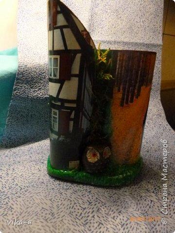 декоративная подставка для карандашей и прочей мелочи.с гнездом фото 44