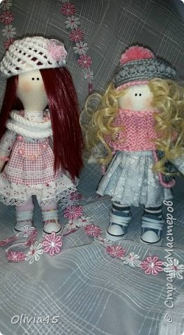 плавно перешла к куколкам))) фото 5