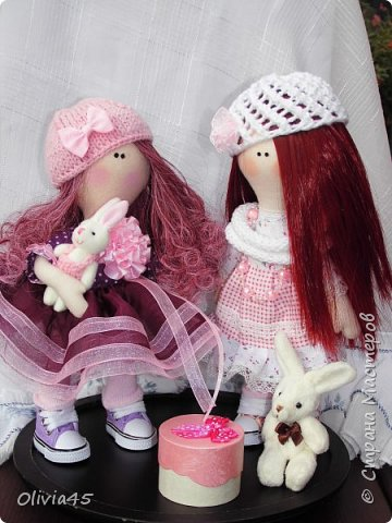 плавно перешла к куколкам))) фото 1