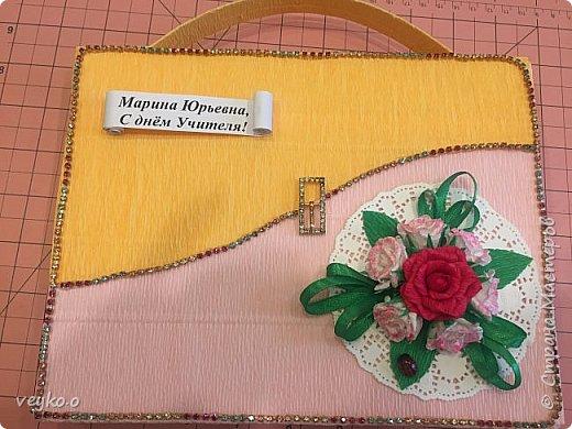 Мини МК портфель ко дню учителя фото 14