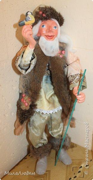 """Всем здравствуйте! 8 марта у нас в Доме культуры проходила выставка авторских кукол художника Колмогоровой Людмилы Юрьевны """"Жили-были куклы...""""  У меня был восторг и я все хотела поделиться своими впечатлениями с вами, но все не до этого было. Вот взялась, выбрала фото, обработала и выставляю репортаж. Фото будет много.  Автор этой выставки моя землячка, она жила и училась в моем поселке, в моей школе, чуть постарше меня. И как многие после школы уехала учиться, вышла замуж и в деревню не вернулась. фото 73"""