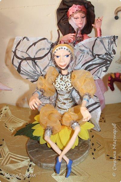 """Всем здравствуйте! 8 марта у нас в Доме культуры проходила выставка авторских кукол художника Колмогоровой Людмилы Юрьевны """"Жили-были куклы...""""  У меня был восторг и я все хотела поделиться своими впечатлениями с вами, но все не до этого было. Вот взялась, выбрала фото, обработала и выставляю репортаж. Фото будет много.  Автор этой выставки моя землячка, она жила и училась в моем поселке, в моей школе, чуть постарше меня. И как многие после школы уехала учиться, вышла замуж и в деревню не вернулась. фото 43"""