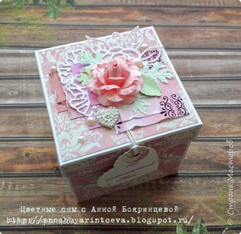 Всем привет!!!!! Покажу нежную коробочку с комплиментами, которая нашла свою хозяйку. фото 1