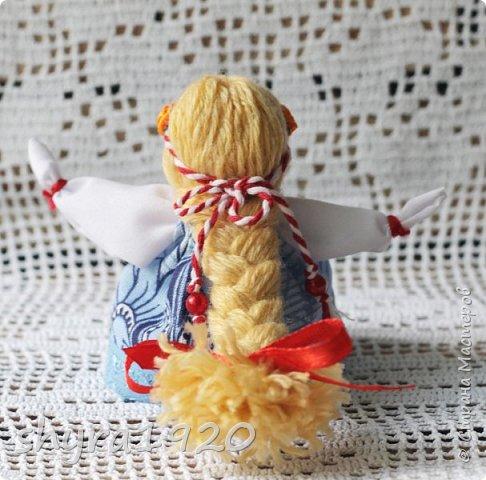 2).    Кукла на Долю, на Счастье. Сделана по всем правилам русских народных кукол. Сшила 28 штук,  показываю по 3 фото каждой. фото 83
