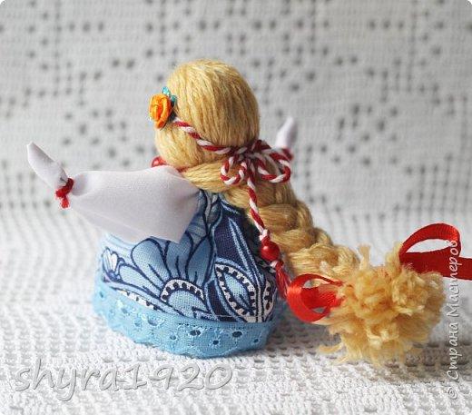 2).    Кукла на Долю, на Счастье. Сделана по всем правилам русских народных кукол. Сшила 28 штук,  показываю по 3 фото каждой. фото 84