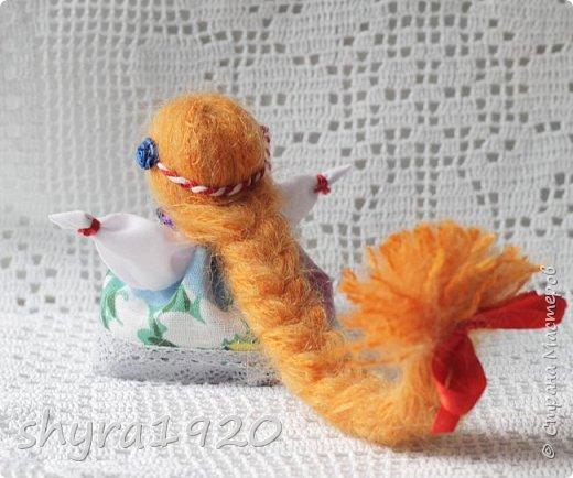2).    Кукла на Долю, на Счастье. Сделана по всем правилам русских народных кукол. Сшила 28 штук,  показываю по 3 фото каждой. фото 6