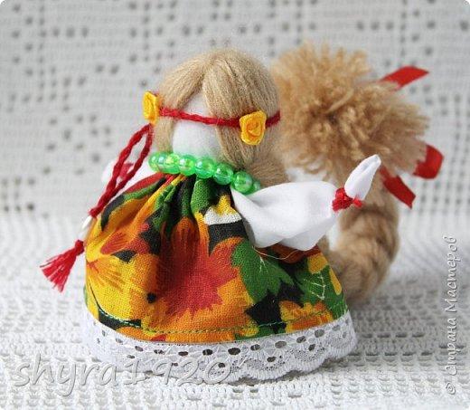 2).    Кукла на Долю, на Счастье. Сделана по всем правилам русских народных кукол. Сшила 28 штук,  показываю по 3 фото каждой. фото 1
