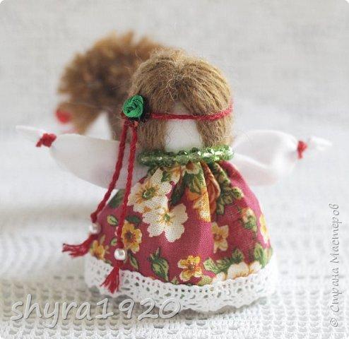 2).    Кукла на Долю, на Счастье. Сделана по всем правилам русских народных кукол. Сшила 28 штук,  показываю по 3 фото каждой. фото 13