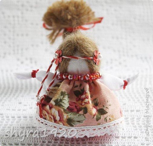 2).    Кукла на Долю, на Счастье. Сделана по всем правилам русских народных кукол. Сшила 28 штук,  показываю по 3 фото каждой. фото 28