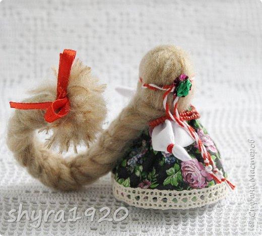 2).    Кукла на Долю, на Счастье. Сделана по всем правилам русских народных кукол. Сшила 28 штук,  показываю по 3 фото каждой. фото 24