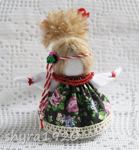 2).    Кукла на Долю, на Счастье. Сделана по всем правилам русских народных кукол. Сшила 28 штук,  показываю по 3 фото каждой. фото 22