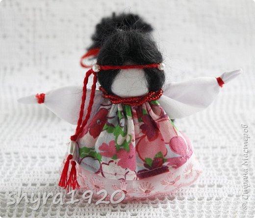 2).    Кукла на Долю, на Счастье. Сделана по всем правилам русских народных кукол. Сшила 28 штук,  показываю по 3 фото каждой. фото 10