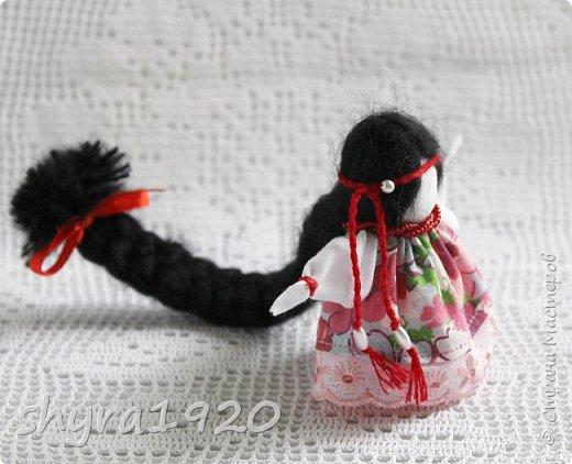 2).    Кукла на Долю, на Счастье. Сделана по всем правилам русских народных кукол. Сшила 28 штук,  показываю по 3 фото каждой. фото 12