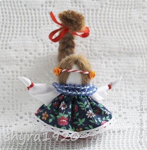 2).    Кукла на Долю, на Счастье. Сделана по всем правилам русских народных кукол. Сшила 28 штук,  показываю по 3 фото каждой. фото 20