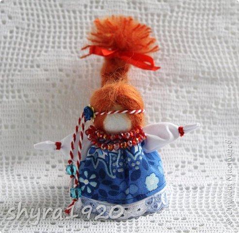 2).    Кукла на Долю, на Счастье. Сделана по всем правилам русских народных кукол. Сшила 28 штук,  показываю по 3 фото каждой. фото 7