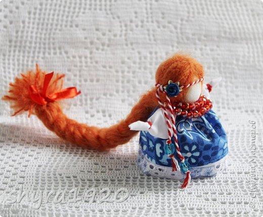 2).    Кукла на Долю, на Счастье. Сделана по всем правилам русских народных кукол. Сшила 28 штук,  показываю по 3 фото каждой. фото 8