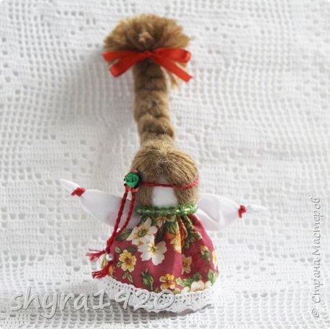 2).    Кукла на Долю, на Счастье. Сделана по всем правилам русских народных кукол. Сшила 28 штук,  показываю по 3 фото каждой. фото 14