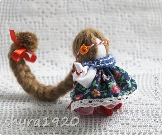 2).    Кукла на Долю, на Счастье. Сделана по всем правилам русских народных кукол. Сшила 28 штук,  показываю по 3 фото каждой. фото 21