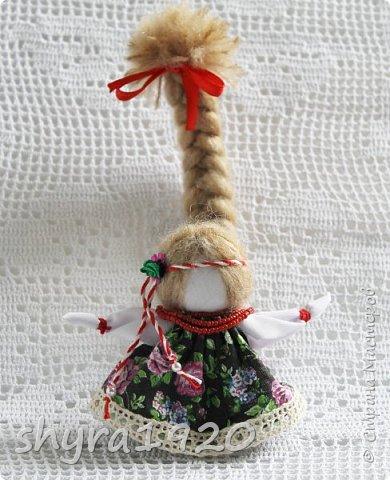 2).    Кукла на Долю, на Счастье. Сделана по всем правилам русских народных кукол. Сшила 28 штук,  показываю по 3 фото каждой. фото 23