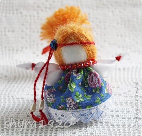 2).    Кукла на Долю, на Счастье. Сделана по всем правилам русских народных кукол. Сшила 28 штук,  показываю по 3 фото каждой. фото 25