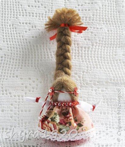 2).    Кукла на Долю, на Счастье. Сделана по всем правилам русских народных кукол. Сшила 28 штук,  показываю по 3 фото каждой. фото 29